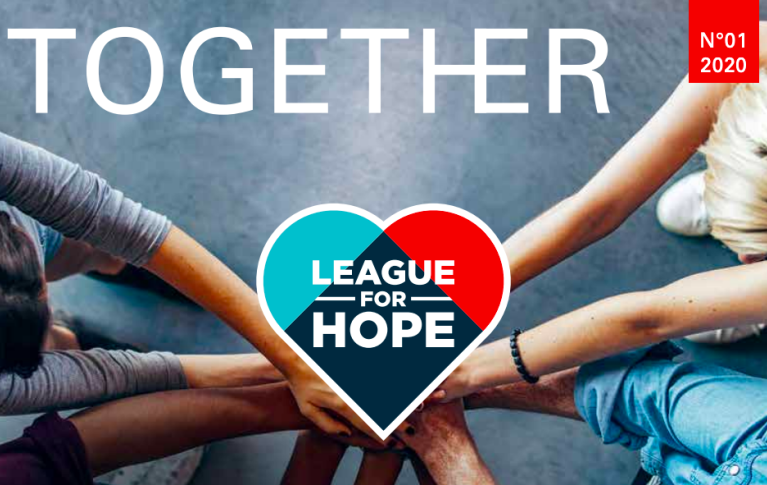 Titelbild von Together Magazin